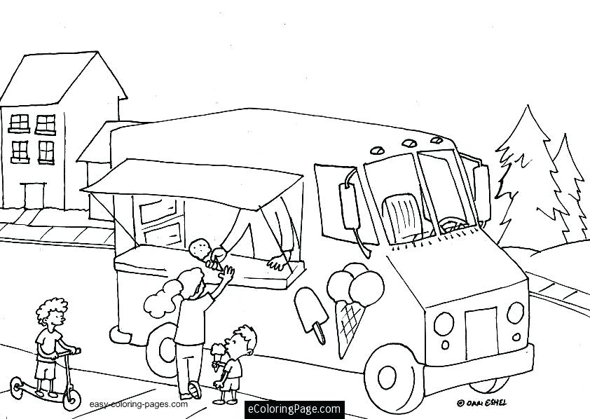 842x598 Ice Cream Coloring Pages For Adults Plus Printable Ice Cream