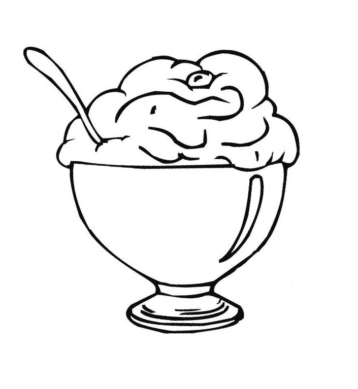 705x767 Free Printable Ice Cream Coloring Pages For Kids