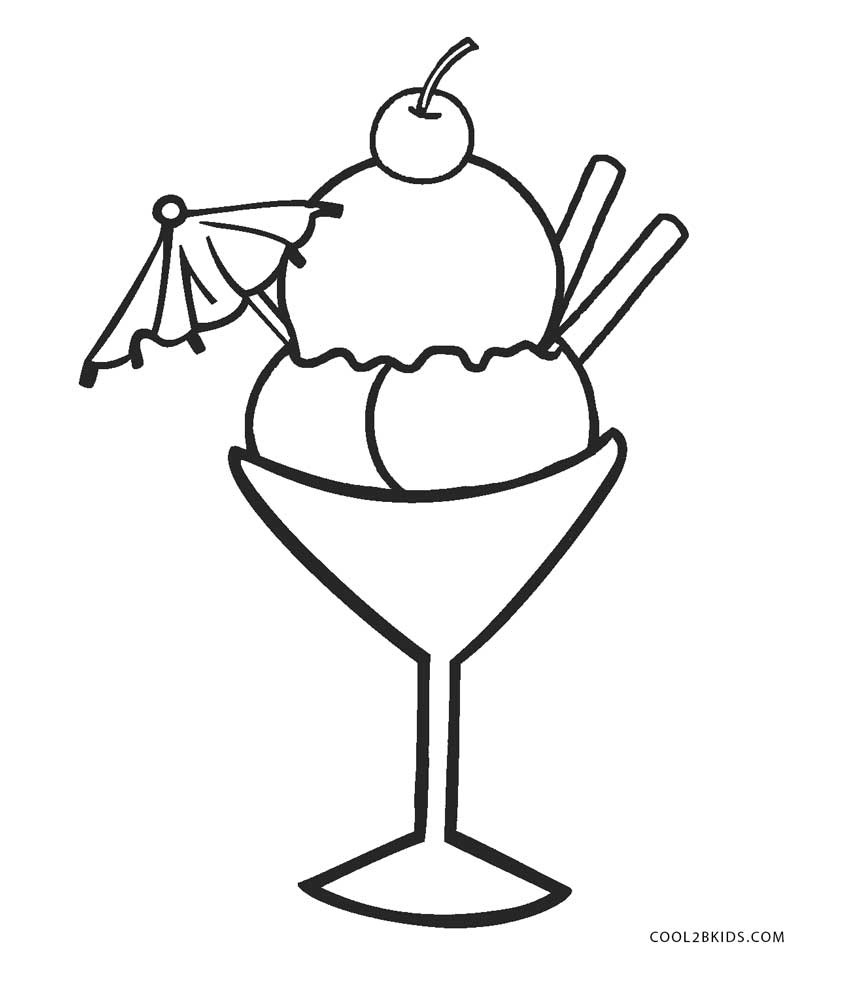 850x981 Free Printable Ice Cream Coloring Pages For Kids