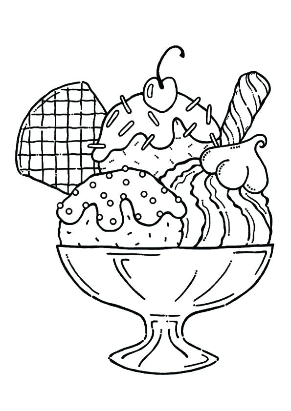 595x842 Ice Cream Coloring Pages Ice Cream Coloring Pages Cartoon Ice
