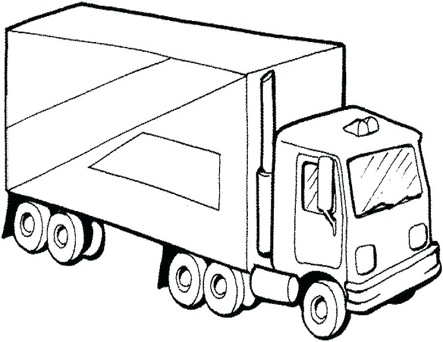 906x700 Truck Coloring Pages Free Free Construction Coloring Pages