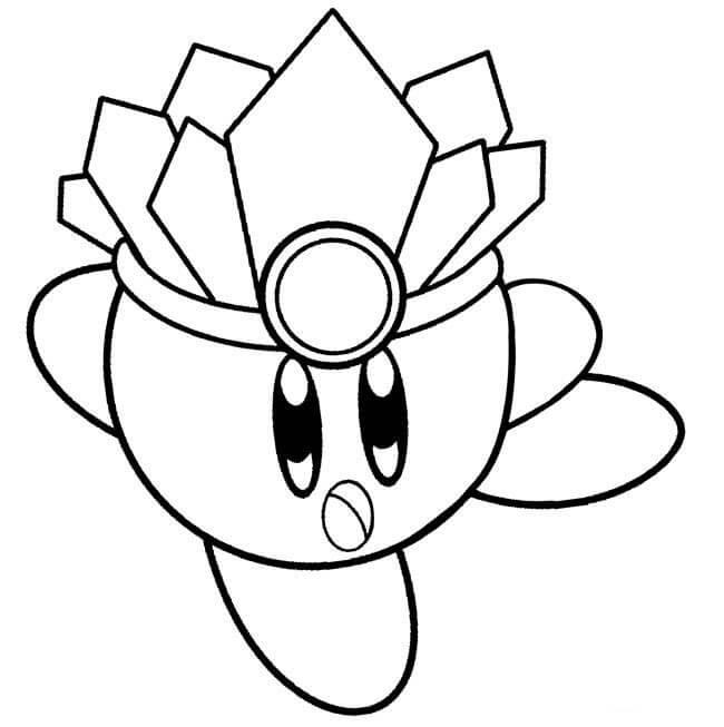 Ice Cube Coloring Page
