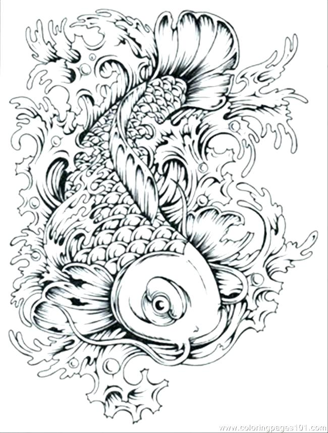 650x857 Fishing Coloring Page Free Printable Coloring Pages Of Fish