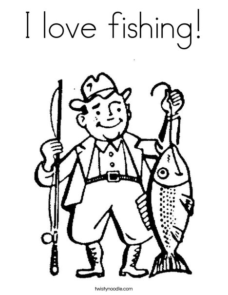 468x605 Super Design Ideas Fishing Color Pages Ice Fishing Page Sports