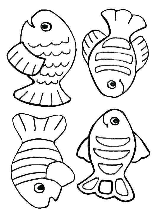 534x712 Fishing Coloring Pages