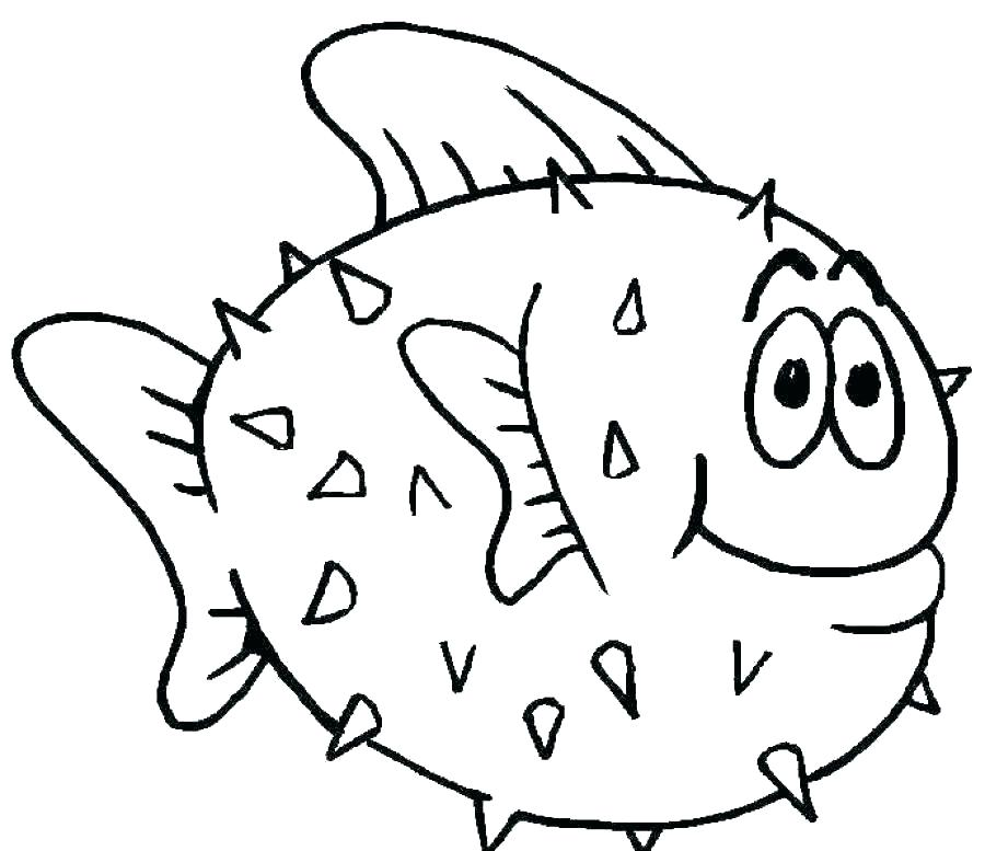 900x777 Fishing Coloring Pages