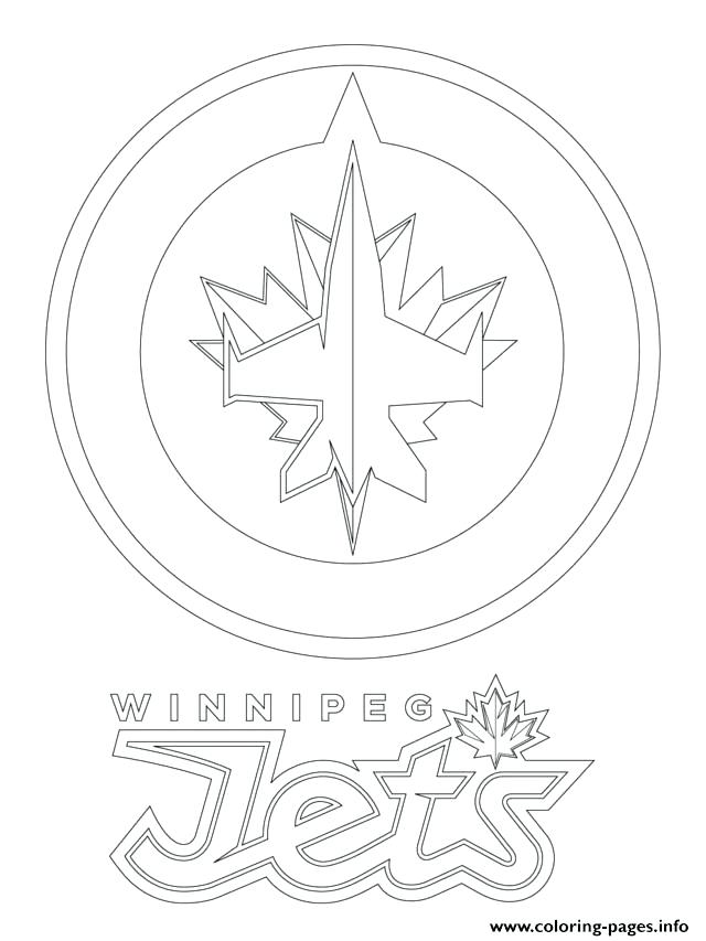 640x853 Hockey Goalie Coloring Pages Jets Logo Hockey Sport Coloring Pages