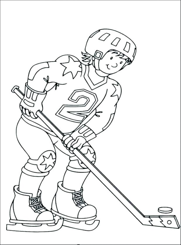 618x834 Ice Hockey Coloring Pages Hockey Color Pages Hockey Coloring Pages
