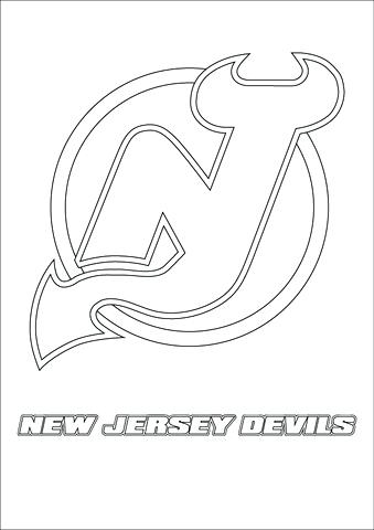 339x480 Nhl Coloring Pages Click To See Printable Version Of New Jersey
