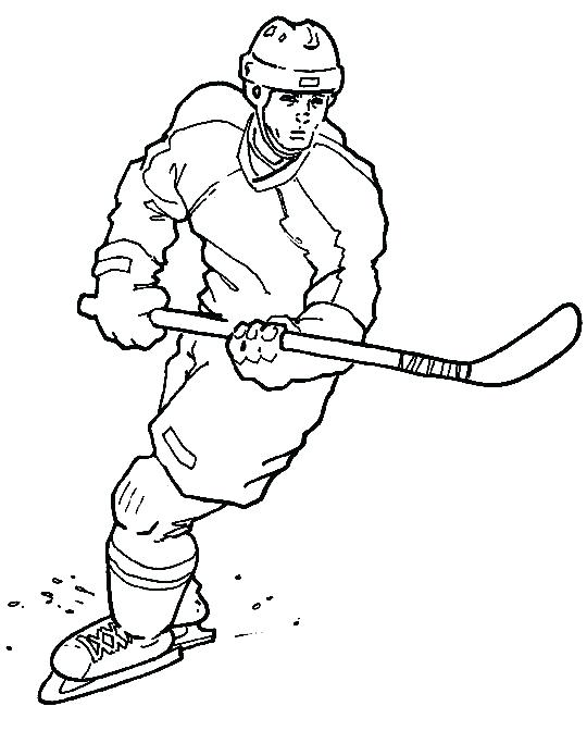 540x672 Nhl Coloring Pages Hockey Coloring Pages To Print Nhl Hockey