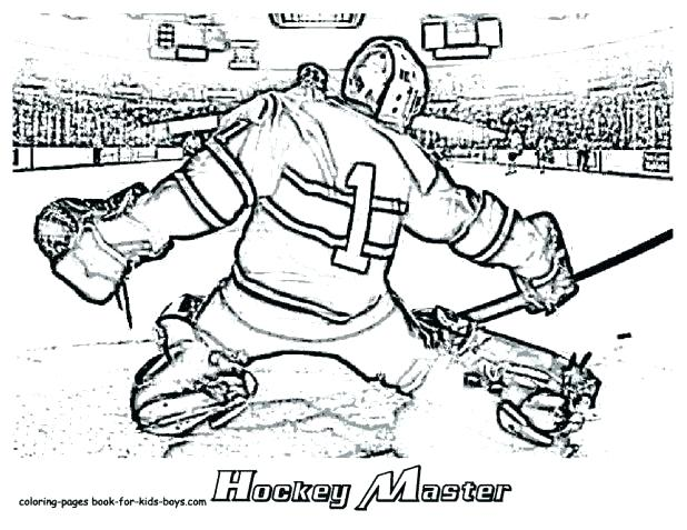 618x477 Nhl Coloring Pages Hockey Coloring Pages Together With Best