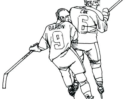 440x330 Nhl Coloring Pages Hockey Goalie Coloring Pages Hockey Coloring