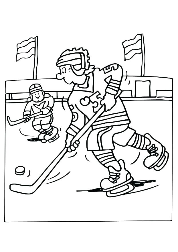 622x880 Nhl Coloring Pages