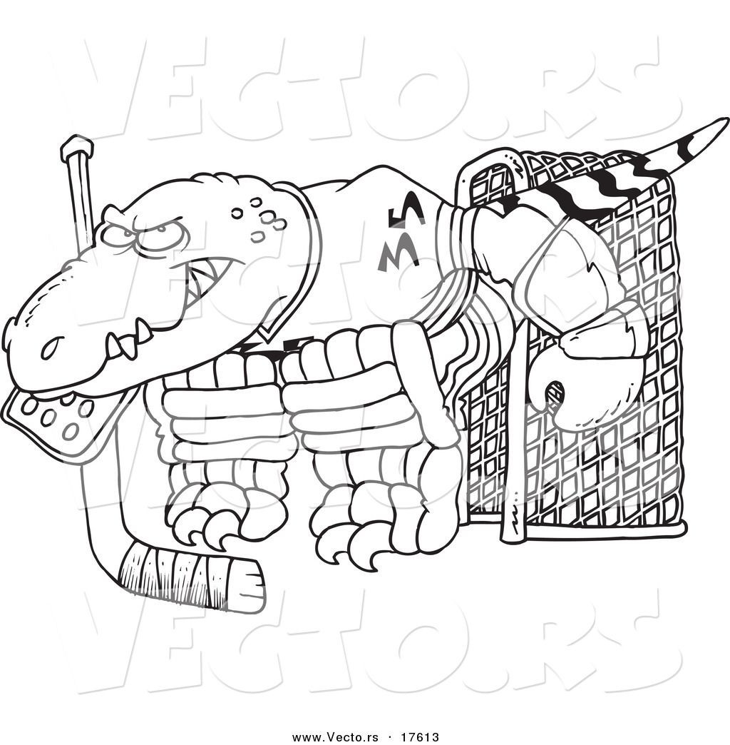 1024x1044 Hockey Coloring Page Goalie