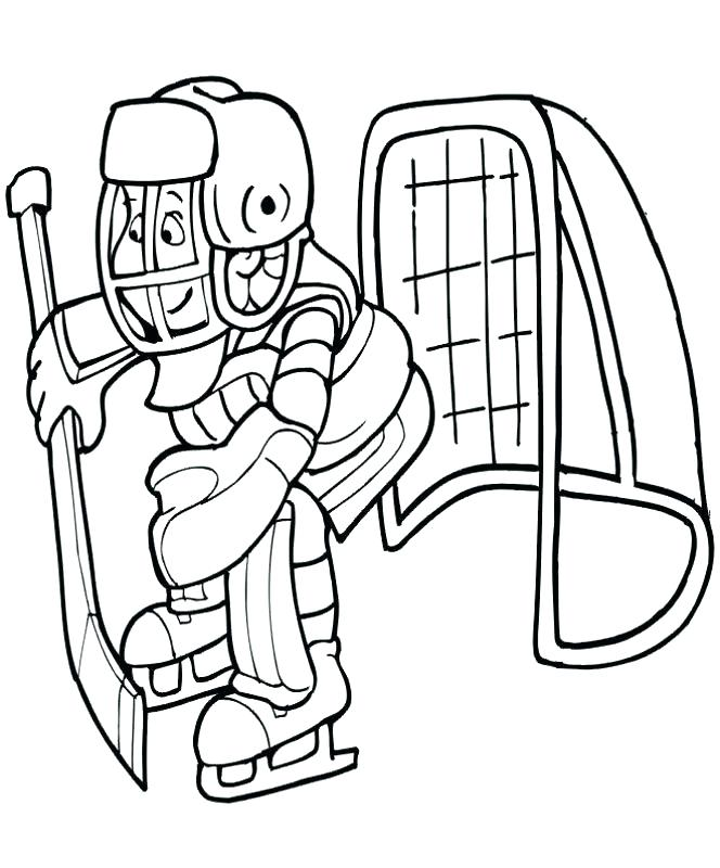 664x800 Hockey Goalie Coloring Pages Hockey Coloring Pages Coloring Pages