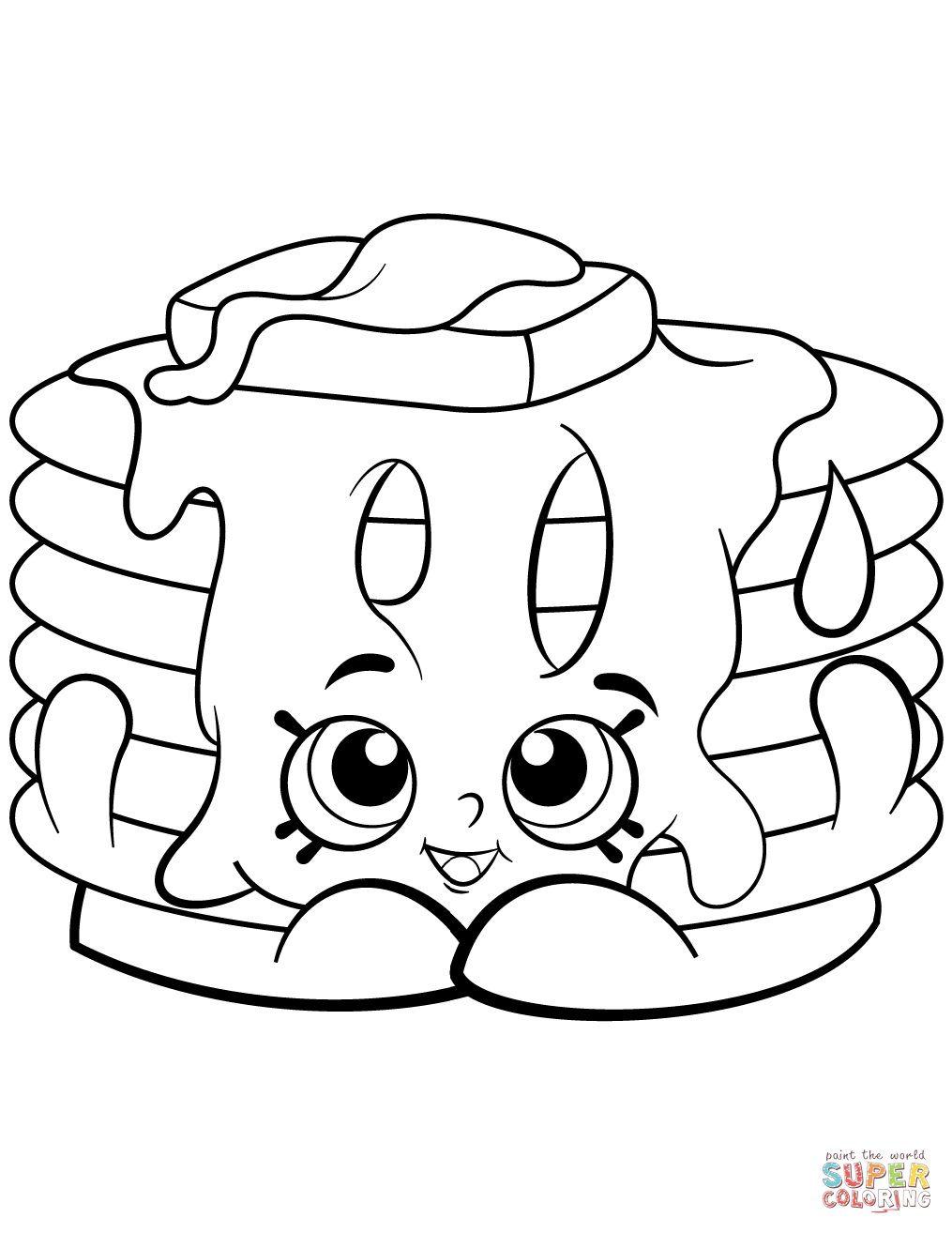 1015x1314 Ice Cream Shopkin Coloring Sheet