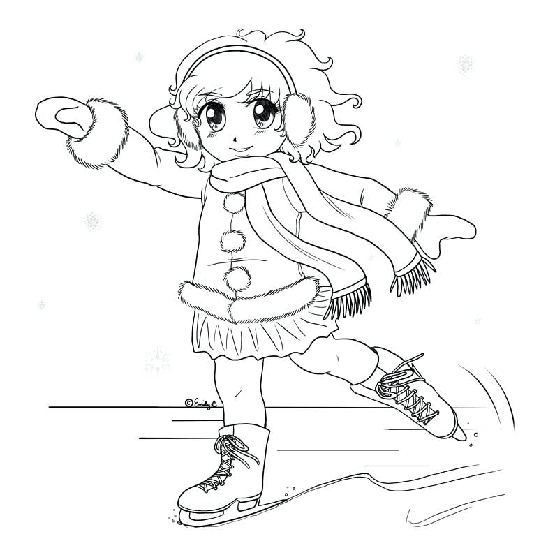 795x795 Printable Coloring Pages Figure Skating Coloring Best Ice