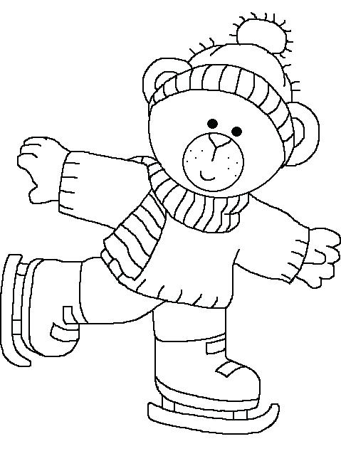 479x648 Ice Skating Coloring Pages