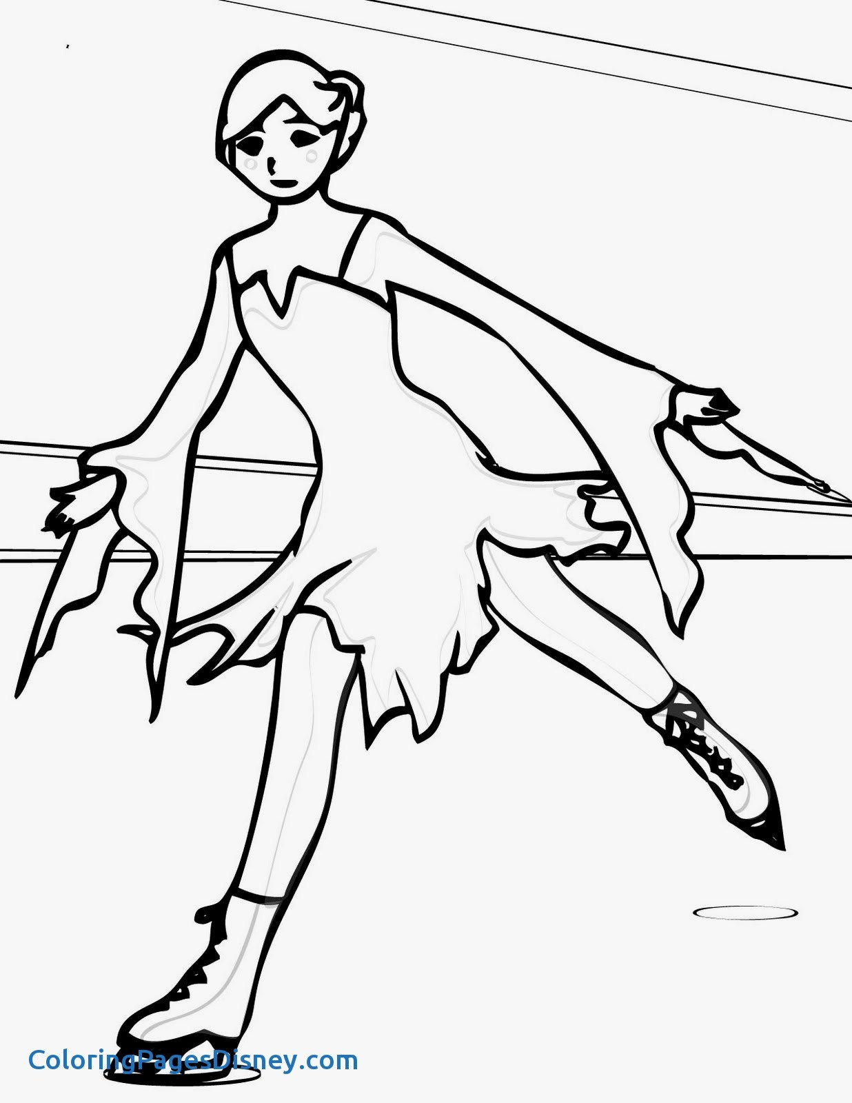 1236x1600 Coloring Pages Ice Skating Lovely Skating Coloring Pages