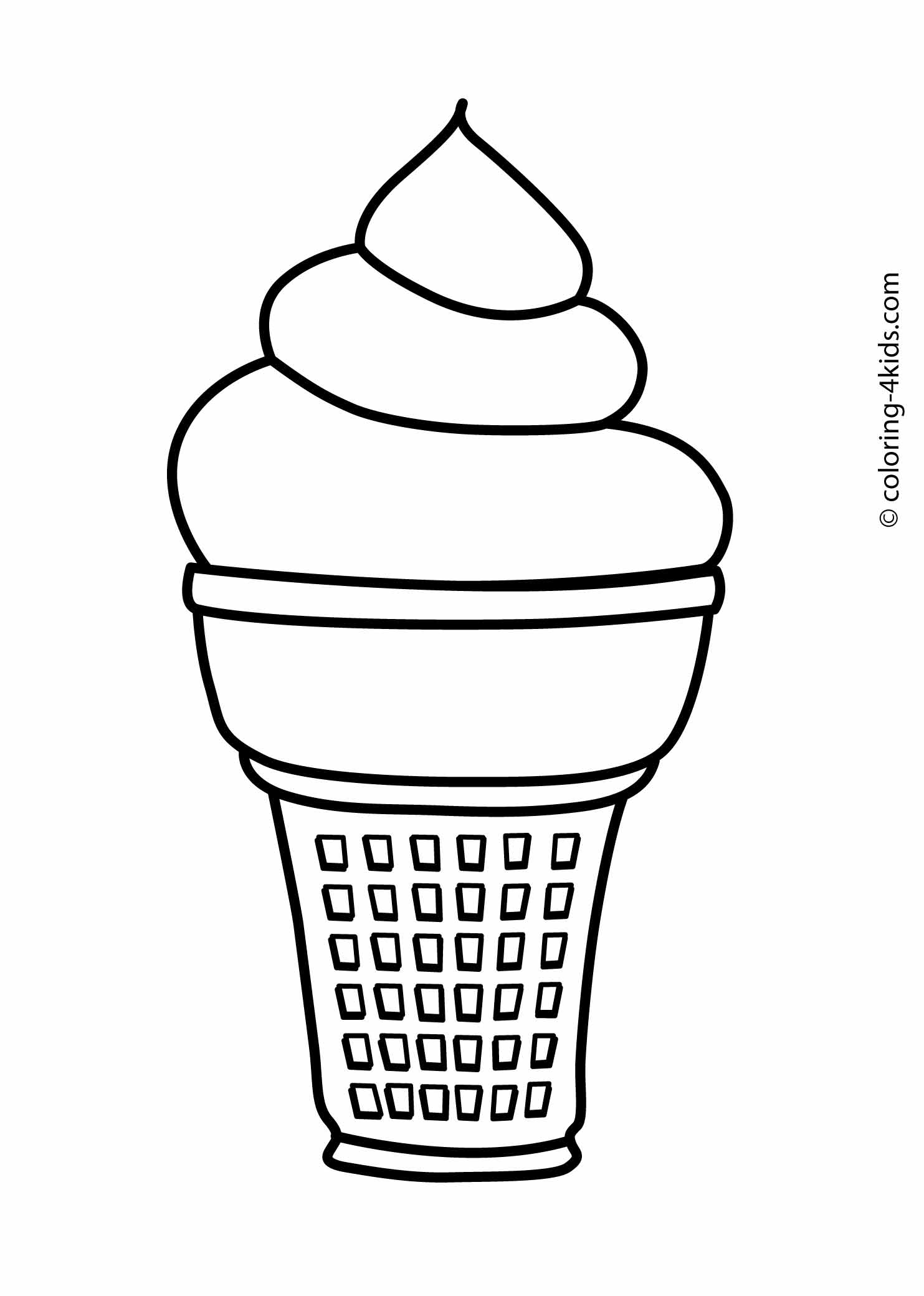 1483x2079 Ice Cream Coloring Pages Coloring Pages Collection