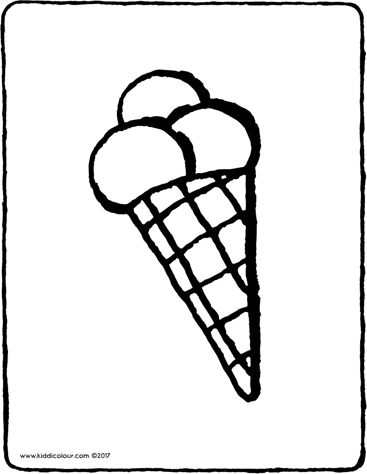 1240x1600 Ice Cream Cone
