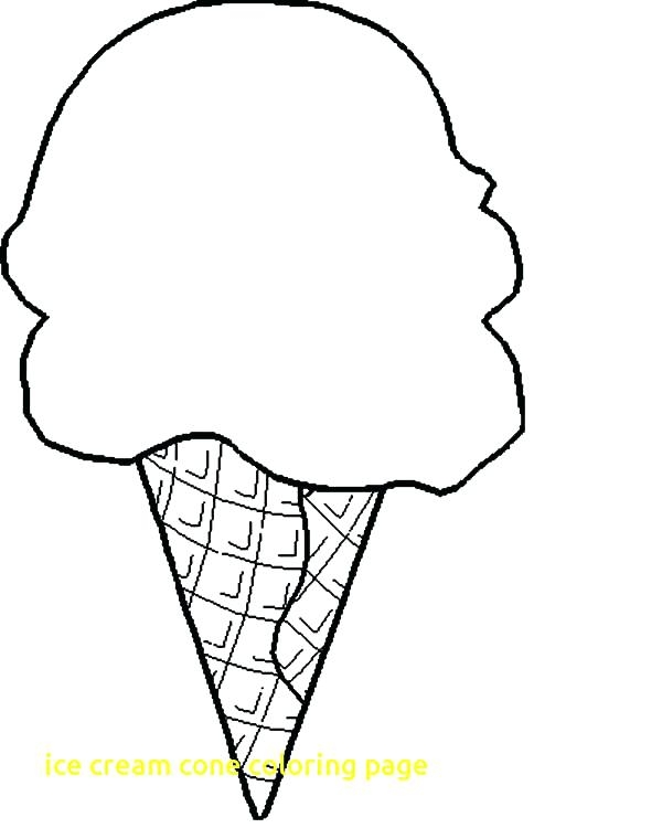 600x750 Coloring Pages Ice Cream Cone Ice Cream Coloring Pages Also Ice