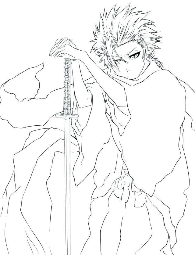 640x836 Bleach Coloring Pages Bleach Color Pages Bleach Coloring Pages How