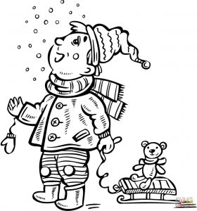 280x300 Icicles Coloring Page Print And Download