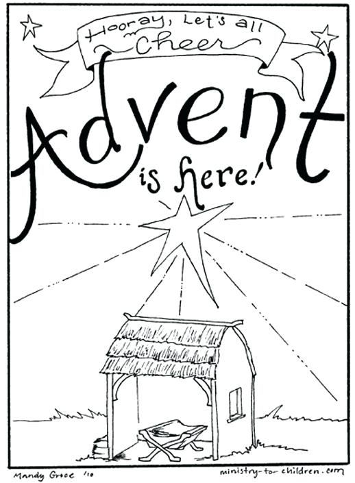 518x705 Amazing Church Christmas Coloring Pages And Printable Coloring