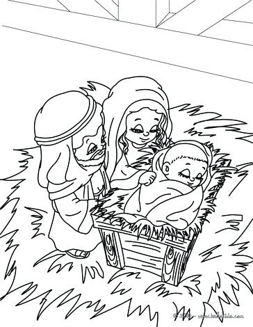 364x470 Holy Family Coloring Pages Holy Family Coloring Page Coloring Page