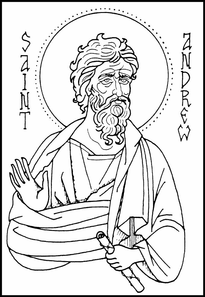 680x985 Orthodox Christian Icon Coloring Book Coloring Pages For Adults