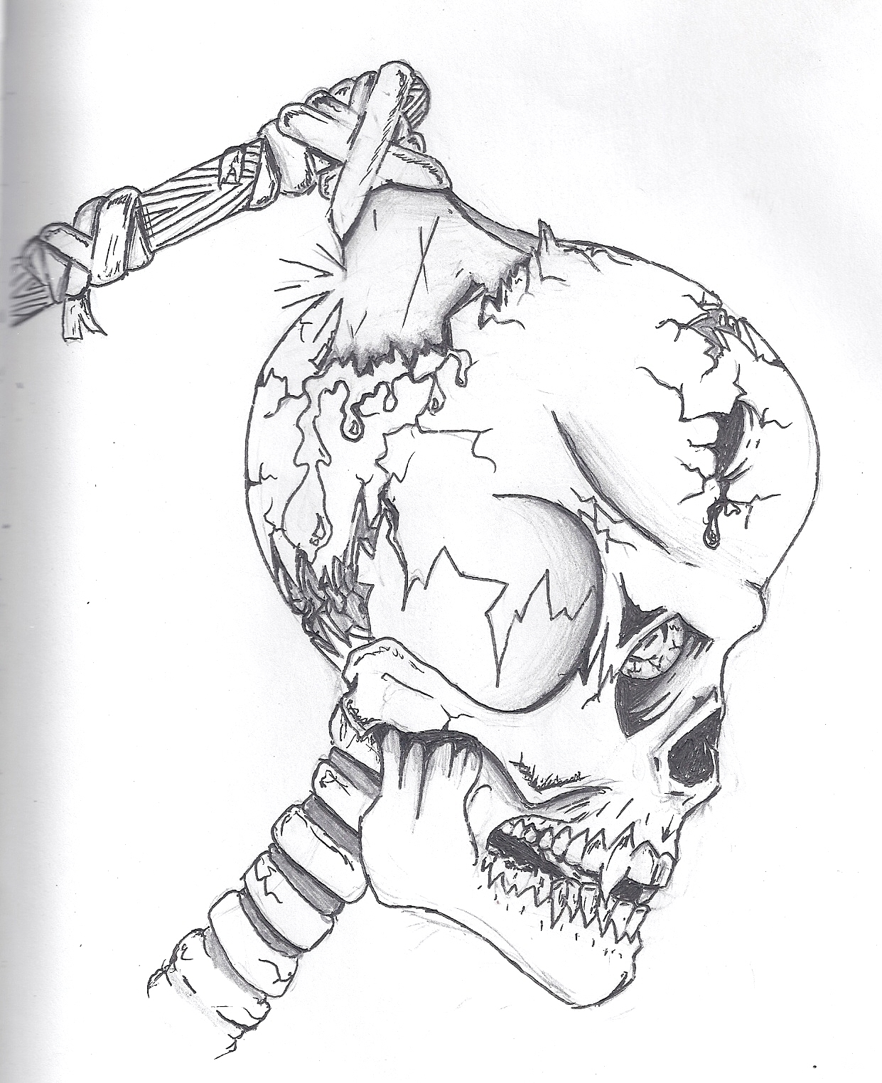 1241x1524 Miracle Hatchet Man Coloring Pages Icp Tattoo And Designs