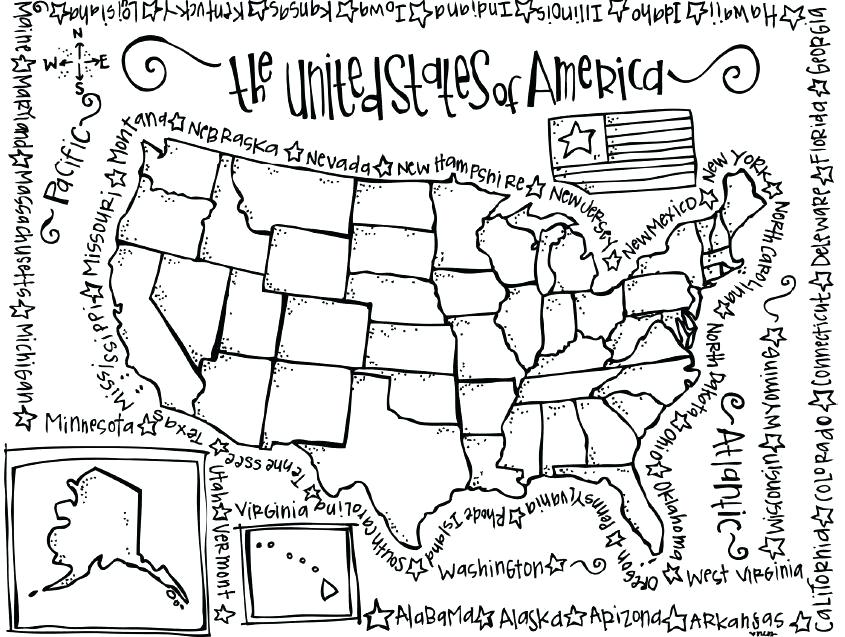 Washington State Map coloring page | Free Printable Coloring Pages | 637x845