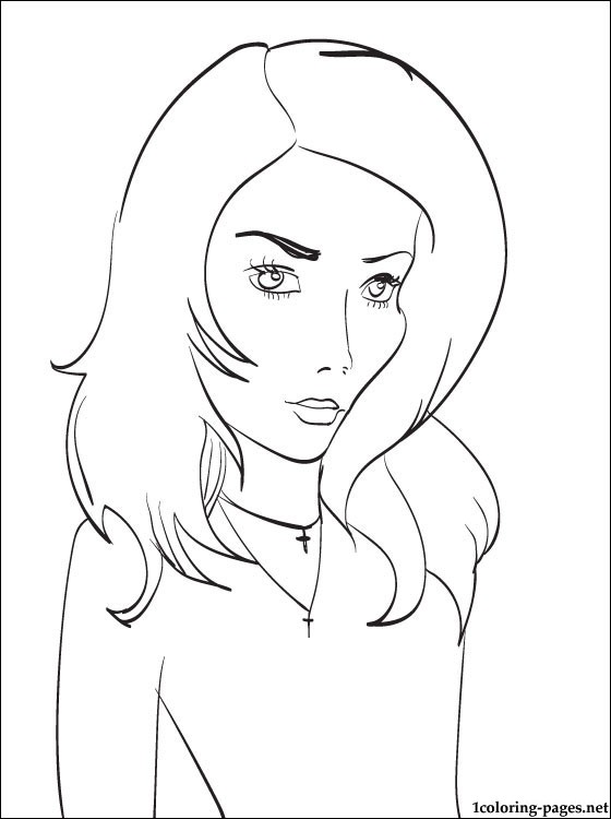 560x750 Iggy Azalea Coloring Pages