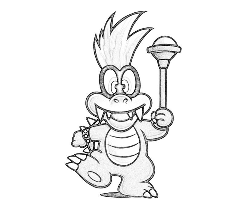 800x667 Iggy Koopa Coloring Pages Iggy Koopa Play Coloring Pages Kids
