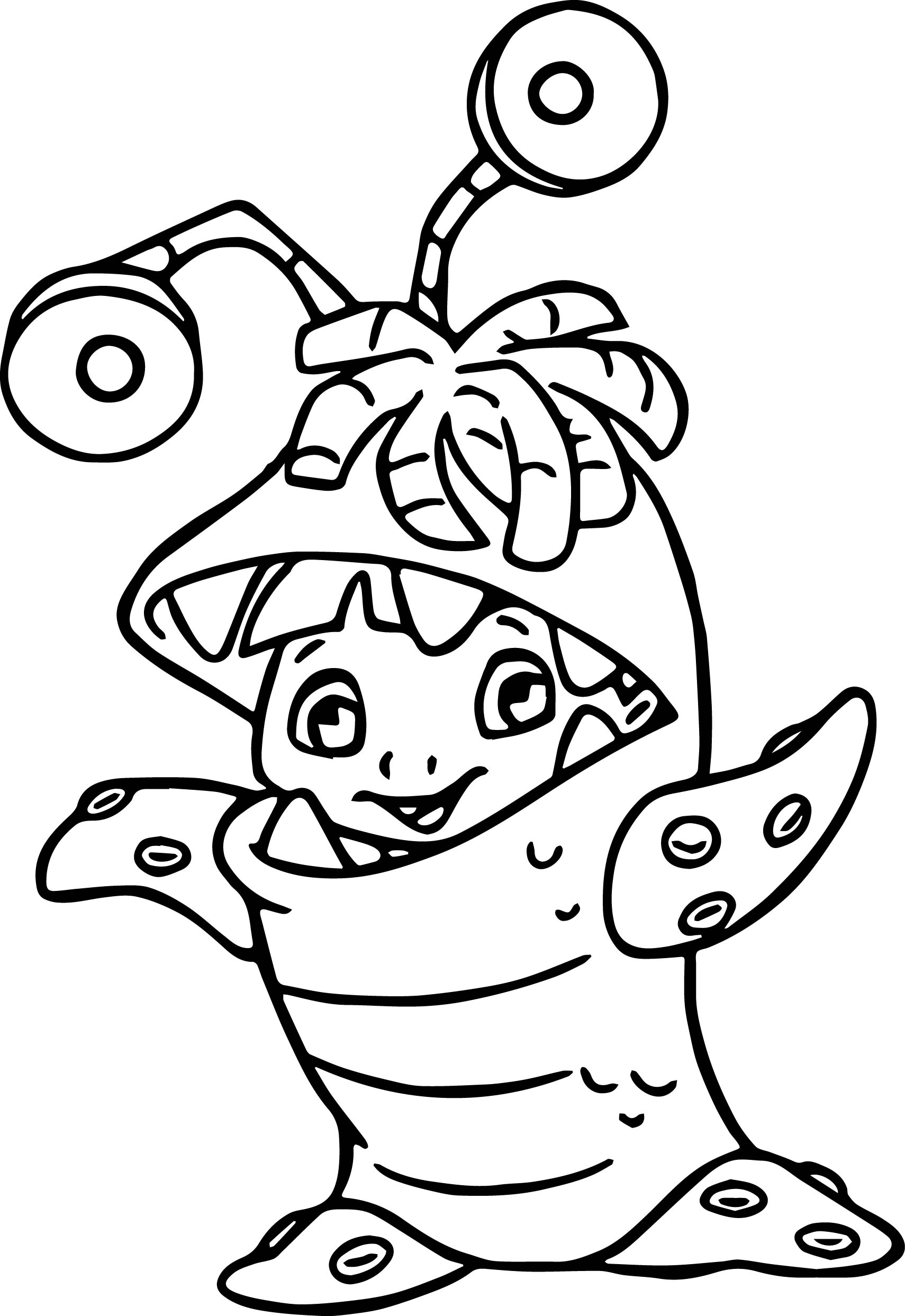 1710x2486 Iggy Moshi Monsters Coloring Page Printable Pages Click