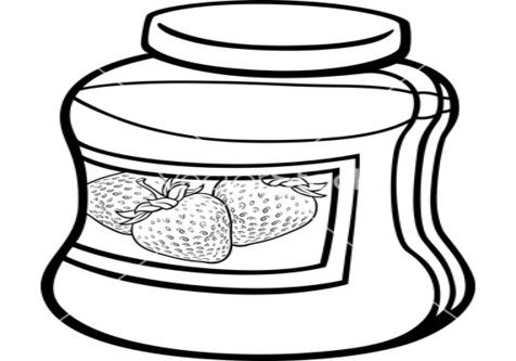 476x333 Coloring Cartoon Jar Page Image Clipart Images