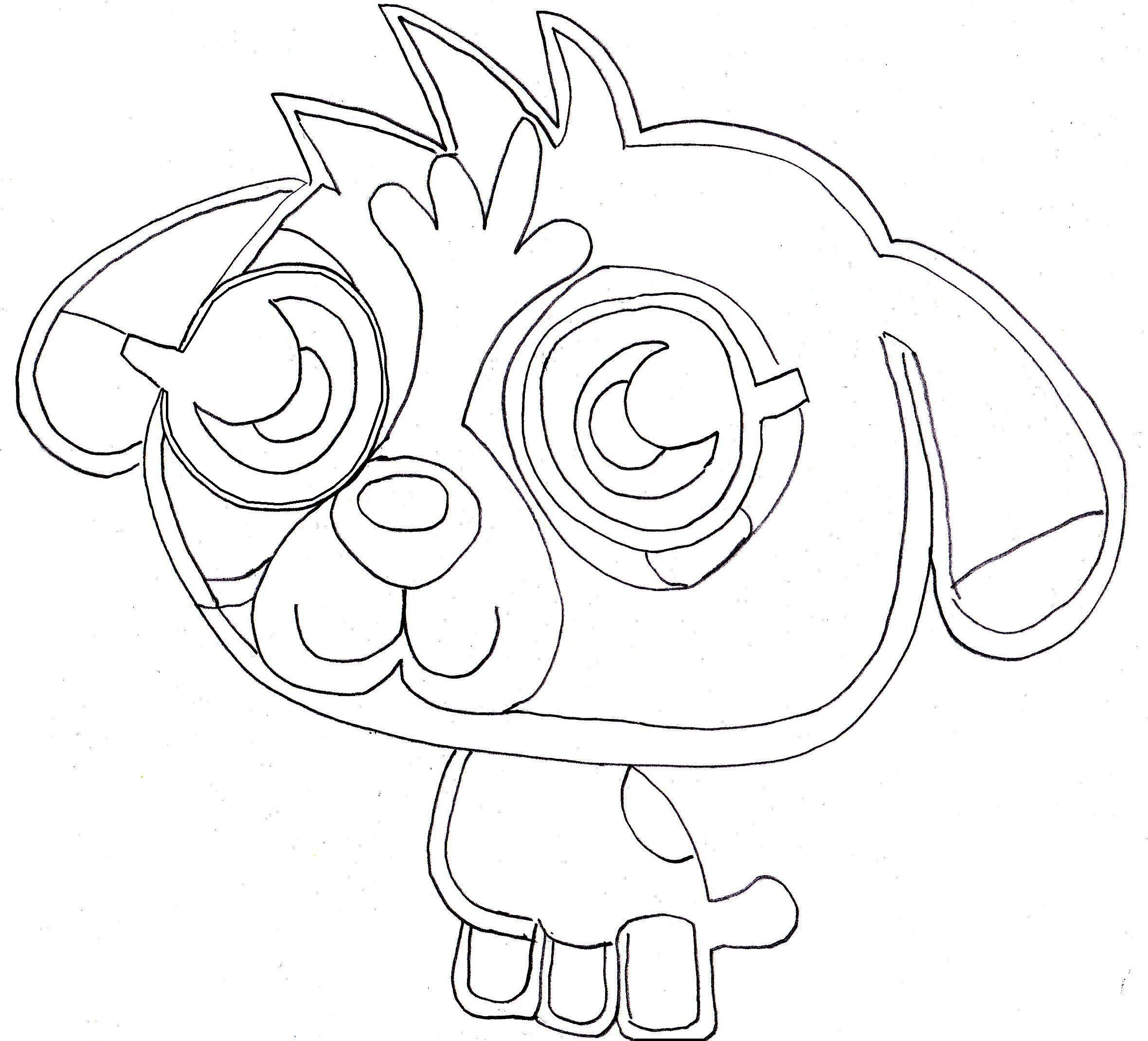 2360x2140 Energy Moshi Monsters Coloring Pages Free Prin