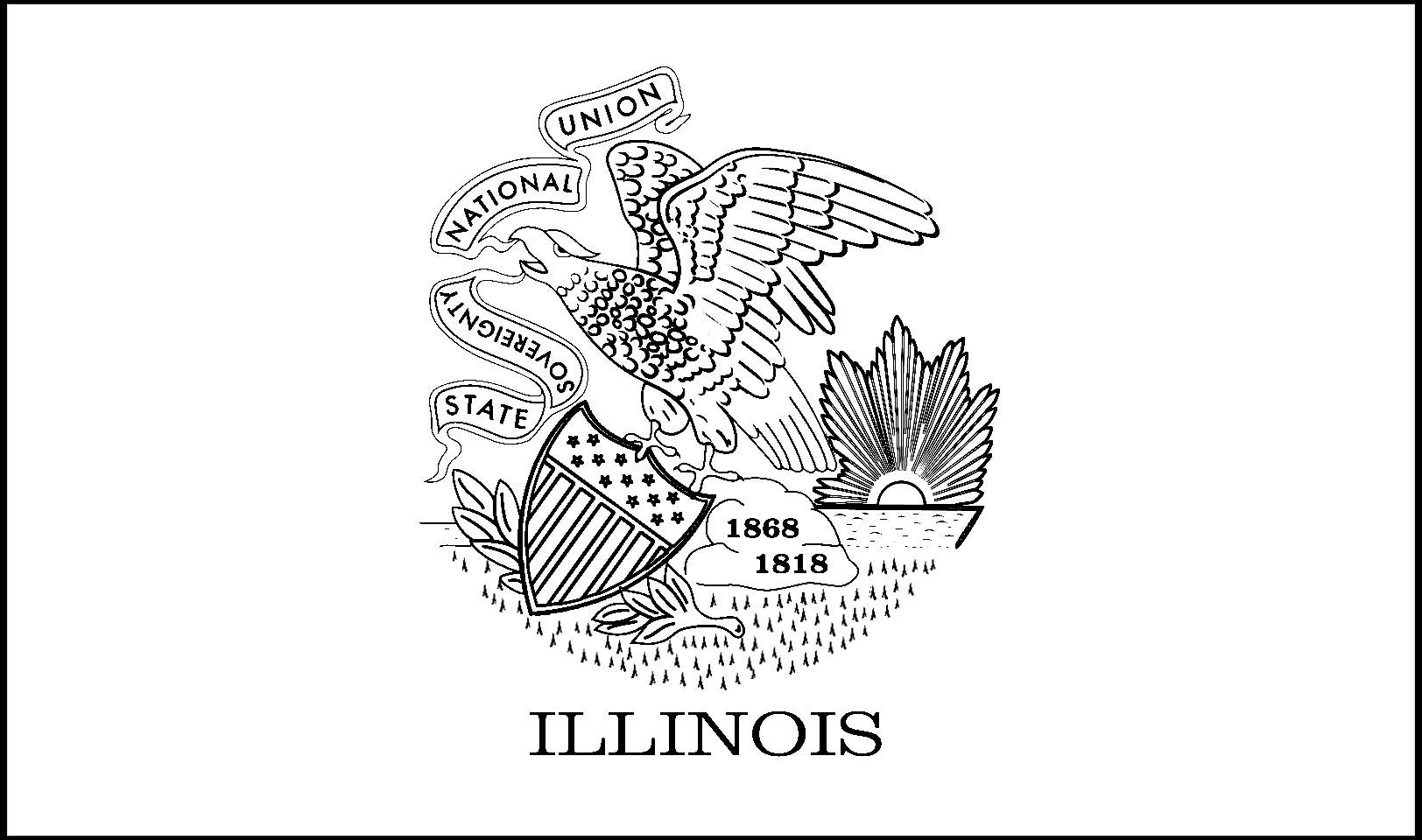 1624x960 Illinois State Flower Coloring Page