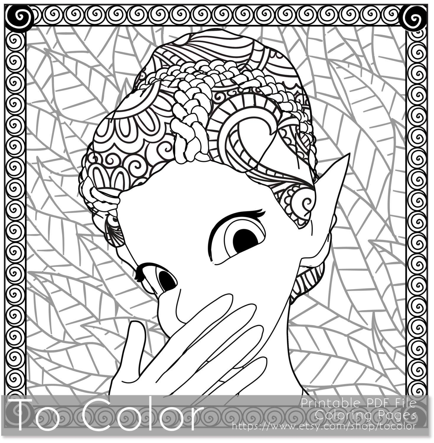 1470x1500 Shocking Coloring Pages For Adults Fantasy Instant Pics Illinois