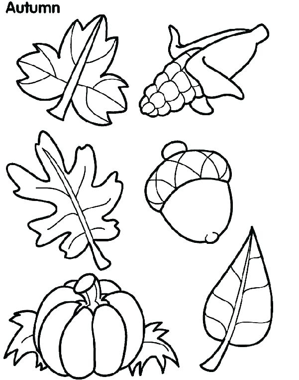 601x762 Preschool Fall Coloring Pages Coloring Pages For Fall Printable