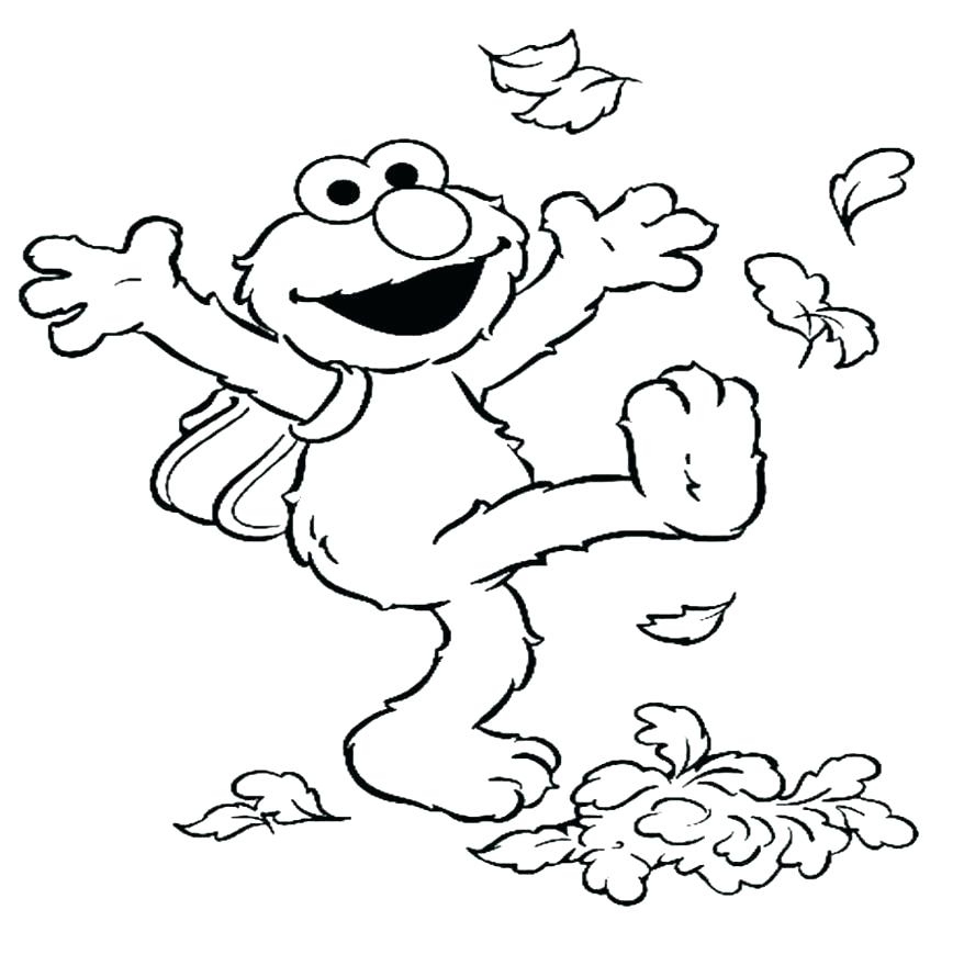 878x880 Fall Coloring Pages Printable Free