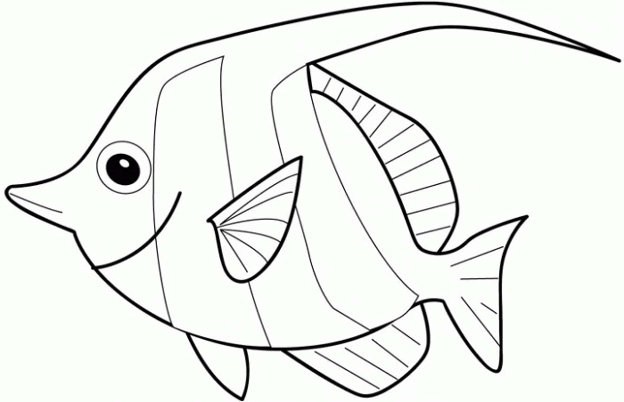 2000x1291 New Angelfish Coloring Page Design Printable Coloring Sheet
