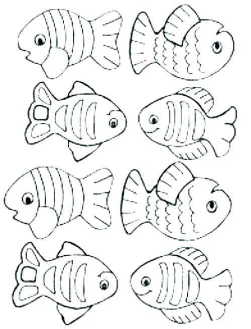 500x656 Fish Coloring Picture