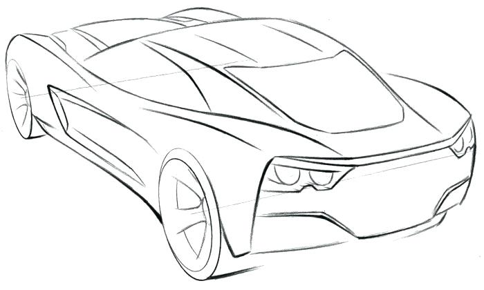 700x420 Corvette Logo Coloring Pages Corvette Sport Car Coloring Page