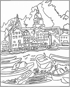 236x291 Impressionist Art Coloring Pages