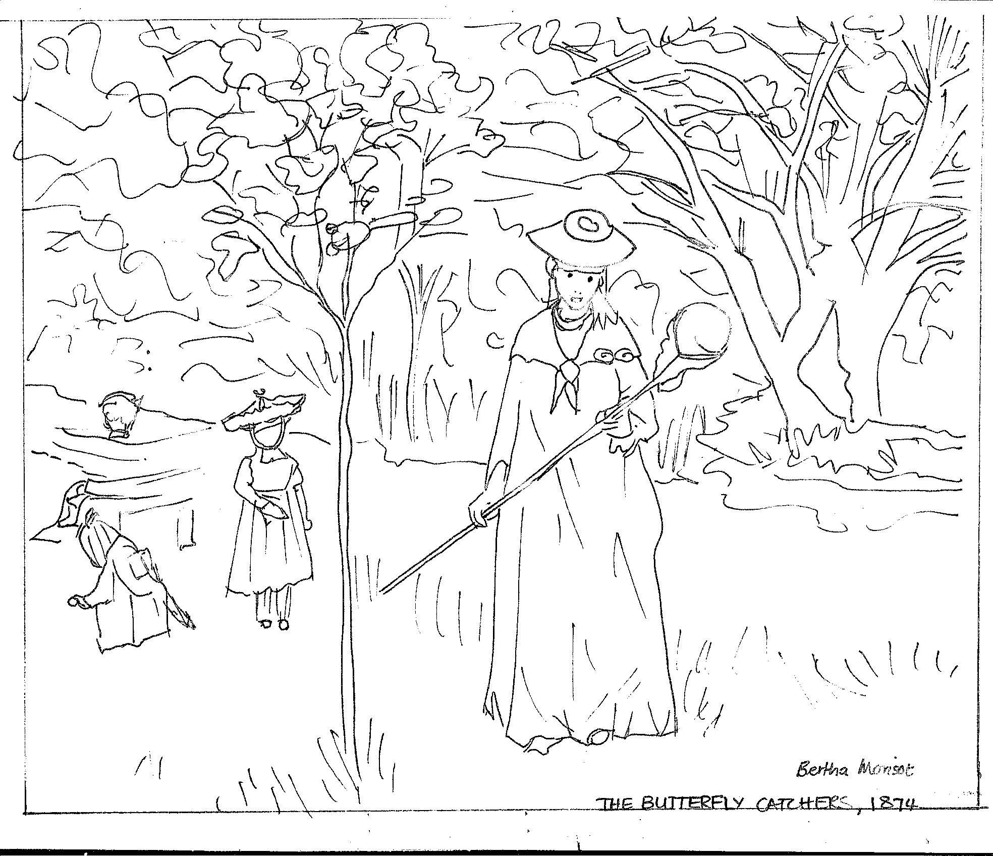 1968x1696 Impressionist Coloring Pages