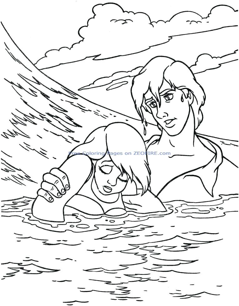765x979 Free Printable Little Mermaid Coloring Pages Little Mermaid