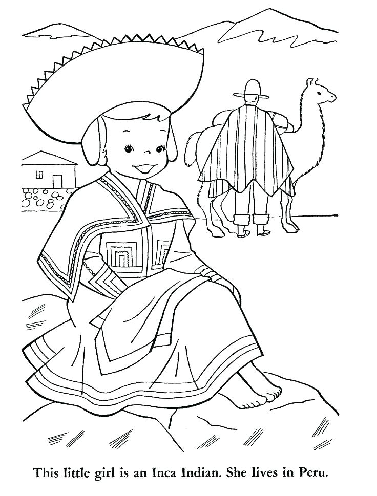 736x969 Inca Coloring Pages Flag Coloring Page Flag Coloring Page Coloring