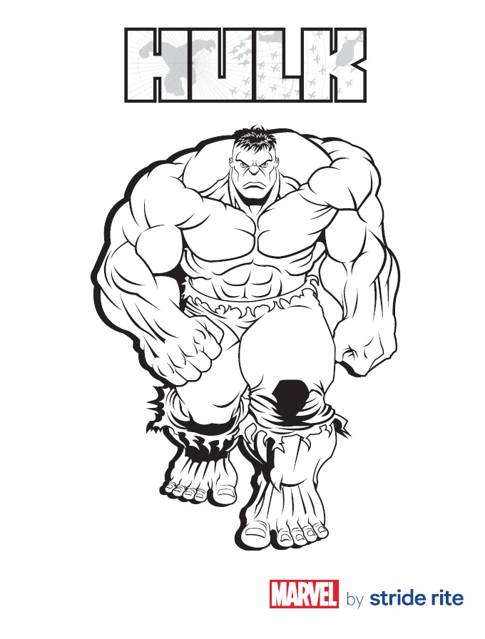 680x896 Hulk Coloring Pages To Print Free